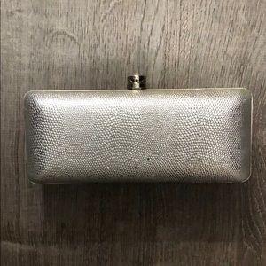 Victoria's Secret Silver Clutch